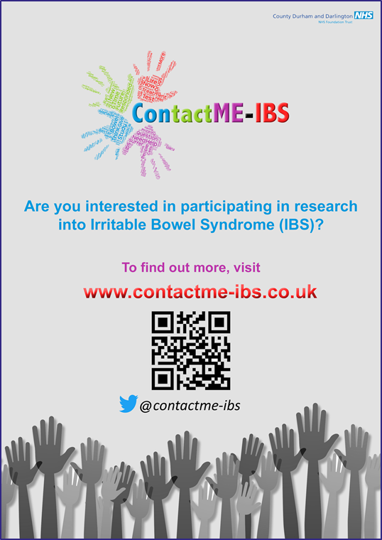 Participate in an IBS Trial Poster